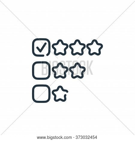review icon isolated on white background from  collection. review icon trendy and modern review symb