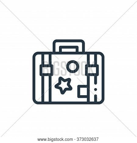 travel case icon isolated on white background from  collection. travel case icon trendy and modern t