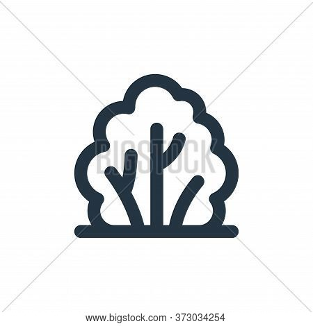 bush icon isolated on white background from  collection. bush icon trendy and modern bush symbol for