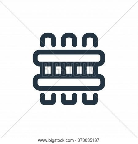 fence icon isolated on white background from  collection. fence icon trendy and modern fence symbol