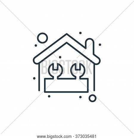 home repair icon isolated on white background from  collection. home repair icon trendy and modern h