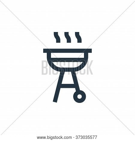 bbq icon isolated on white background from  collection. bbq icon trendy and modern bbq symbol for lo