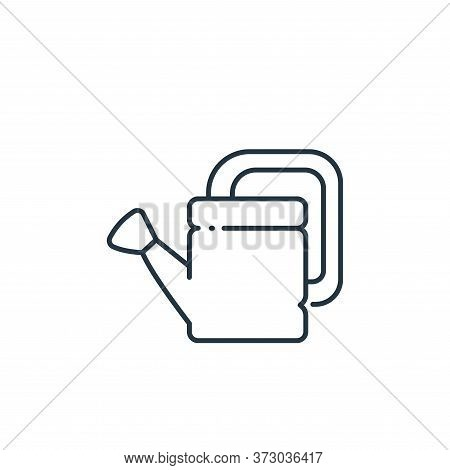 watering can icon isolated on white background from  collection. watering can icon trendy and modern