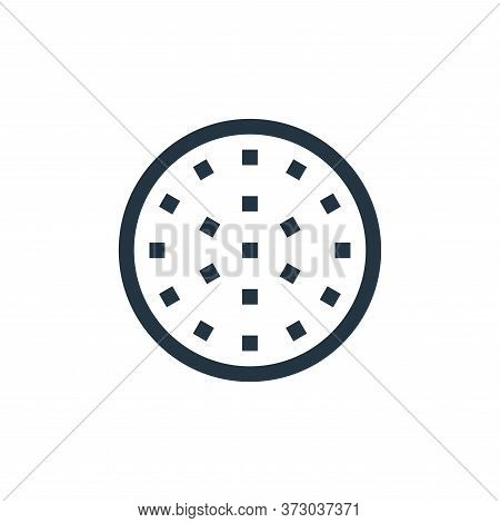 golf ball icon isolated on white background from  collection. golf ball icon trendy and modern golf