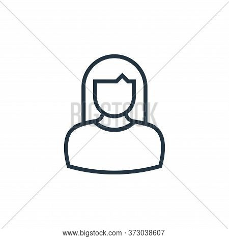 nun icon isolated on white background from  collection. nun icon trendy and modern nun symbol for lo