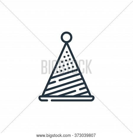 hat icon isolated on white background from  collection. hat icon trendy and modern hat symbol for lo