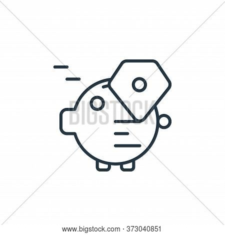 saving plan icon isolated on white background from  collection. saving plan icon trendy and modern s