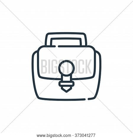portfolio icon isolated on white background from  collection. portfolio icon trendy and modern portf