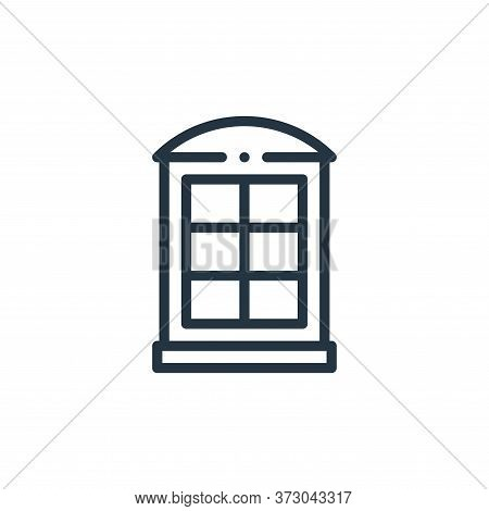 phone booth icon isolated on white background from  collection. phone booth icon trendy and modern p