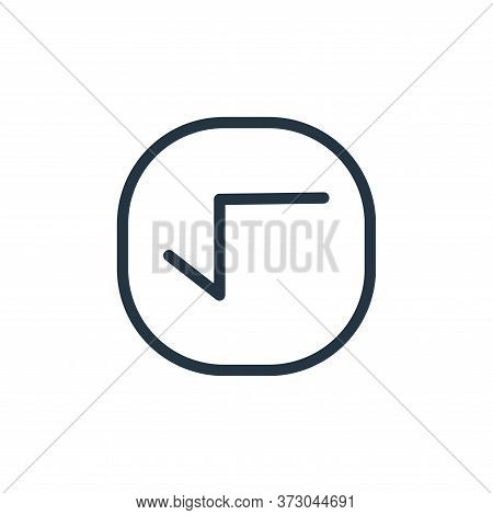 root icon isolated on white background from  collection. root icon trendy and modern root symbol for