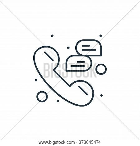 phone call icon isolated on white background from  collection. phone call icon trendy and modern pho