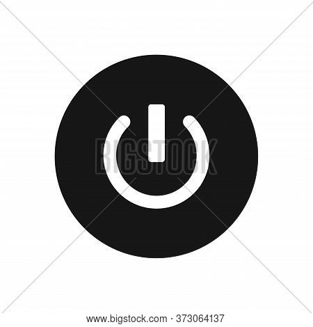 Power Off Icon Isolated On White Background. Power Off Icon In Trendy Design Style For Web Site And