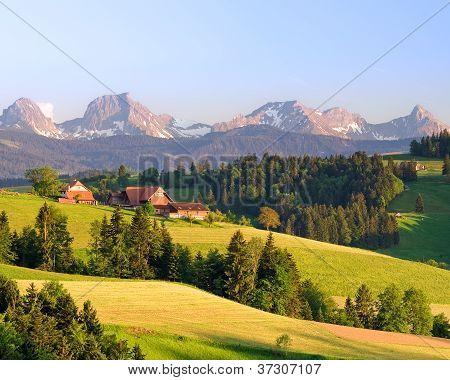 Mountain Farmhouse