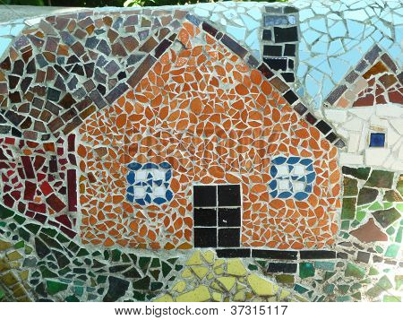 ceramic tile house