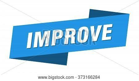 Improve Banner Template. Improve Ribbon Label Sign