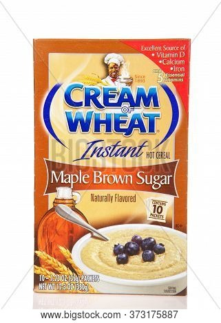 Alameda, Ca - June 18, 2020:  Boxes Of Instant Cream Of Wheat Instant Cereal, A Type Of Breakfast Po