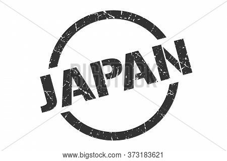 Japan Stamp. Japan Grunge Round Isolated Sign