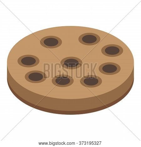 Confectioner Cake Icon. Isometric Of Confectioner Cake Vector Icon For Web Design Isolated On White