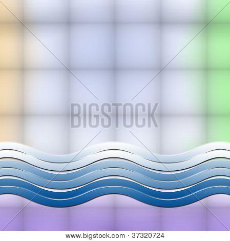 Shapes Design Advertisement Background