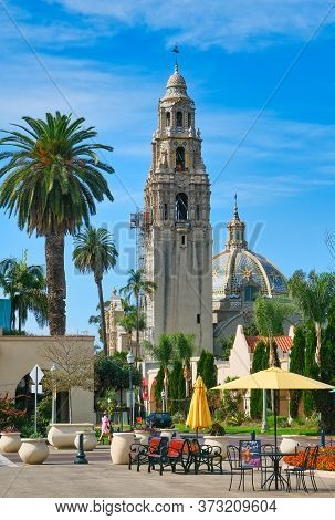 San Diego, California - November 18, 2019: San Diego Is The 8th Largest City In The Country And 2ndl