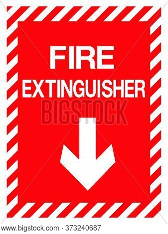 08-emergency Exit, Fire Extinguisher Sign