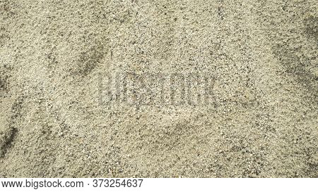 Sand Texture Background. Sand Wall For Interior Or Exterior Decoration.