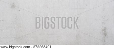 Grey Concrete Abstract Wide Wall Scratched Background With Very Dense Structure