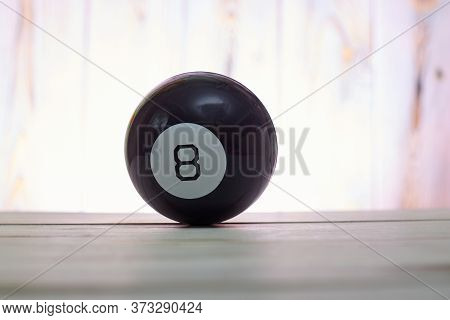 The Ball Of Predictions Figure Eight On A Light Background