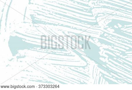 Grunge Texture. Distress Blue Rough Trace. Bizarre Background. Noise Dirty Grunge Texture. Popular A