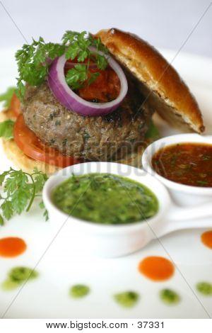 Beefburger On A Bun