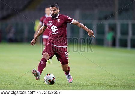 Torino (italy) 23th June 2020. Italian Serie A . Torino Fc Vs Udinese Calcio. Tomas Rincon  Of Torin