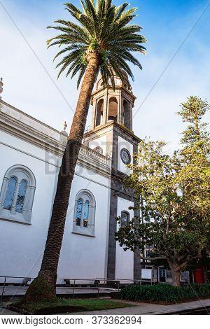 Church Iglesia De Ntra. Senora De La Concepcion On Plaza De La Concepcio In San Cristobal De La Lagu