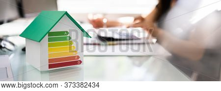 House Energy Efficiency Audit. Calculating Money Invoice