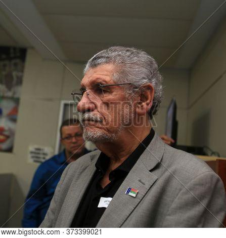 Salvador, Bahia / Brazil - May 3, 2019: Herzem Gusmao, Mayor Of Vitoria Da Conquista Is Seen In The