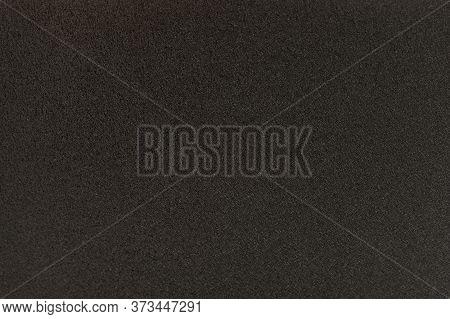 Black Solid Background. Dark Grey Grainy Background