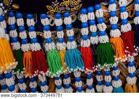 Selection Of Ottoman Turkish Traditional Tassels In Various Colors