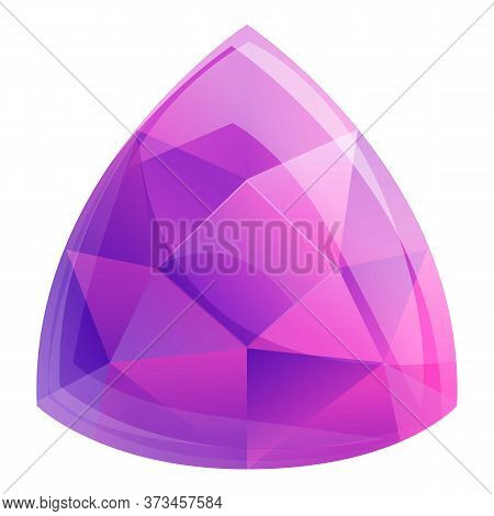 Boutique Carat Gemstone Icon. Cartoon Of Boutique Carat Gemstone Vector Icon For Web Design Isolated