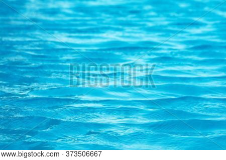 Water Of Swimming Pool Is So Clear, Can Be See Floor In The Water