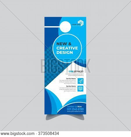 Corporate And Real Estate Door Hanger And Modern Door Hanger Mockup Door Hanger Template