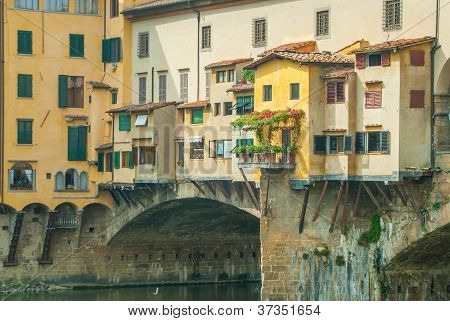 Residence On Ponte Vecchio In Florence