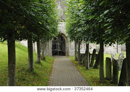 Pathway to Penallt Old Church