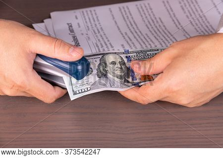 Profit, Dividends, Interest On The Contract. Debt Obligations, Wages. Business Concept.