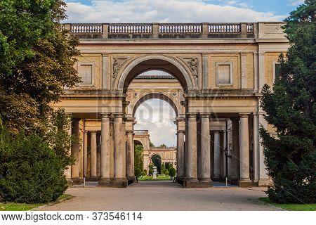 Orangerie In Sanssouci Park In Potsdam, Germany