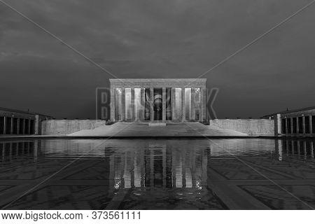 Ankara, Turkey - May 21, 2016: Anitkabir Is The Mausoleum Of The Founder Of Turkish Republic, Mustaf