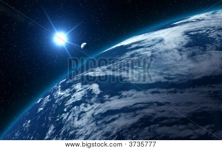 Big Blue Earth