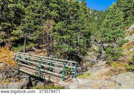 Hiking Trail From Arinsal Village To Coma Pedrosa Peak, Andorra