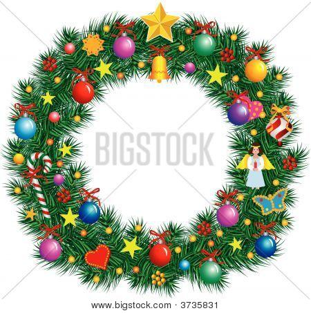 Alphabet Letter O - Christmas Decoration