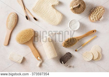 Eco-friendly Bathroom Accessories, Reusable Sponges For Washing, Tooth Powder, Toothbrushes, Washclo