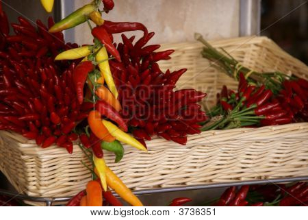 Basket Of Chillis