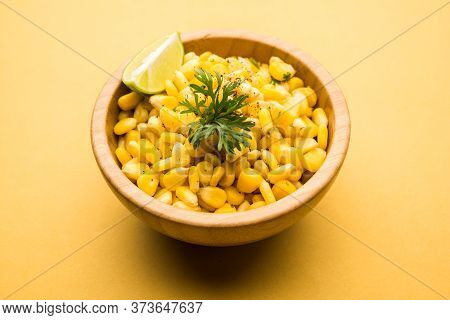 Spicy Masala Corn Chat